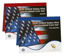 Uncirculated Coin Set 2016