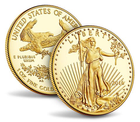 American Eagle 2016 One Ounce Gold Proof Coin,  image 3