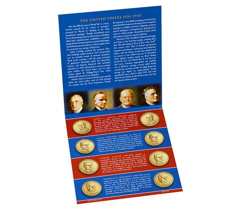 Presidential $1 Coin 2014 Uncirculated Set