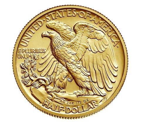 Walking Liberty 2016 Centennial Gold Coin,  image 2