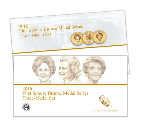 First Spouse 2016 Bronze Medal Series,  image 1