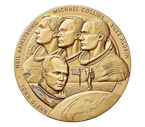 New Frontier Bronze Medal 1.5 Inch