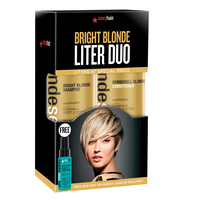 Blonde Sexy Hair Liter Duo with Mini Soy Leave-In