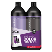 Total Results Color Obsessed Shampoo & Conditioner Liter Duo