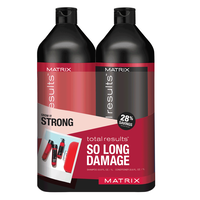 Total Results So Long Damage Shampoo & Conditioner Liter Duo