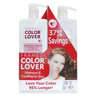 Color Lover Moisture Rich Shampoo & Conditioner Liter Duo
