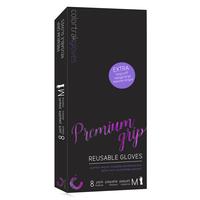 Colortrak Premium Grip Gloves - Medium - 8 pack