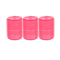 Self-Grip Rollers - 1 3/4 Inch Pink 3–Count
