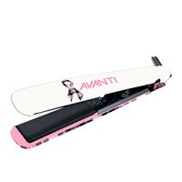 Avanti 1 Inch Nano-Tourmaline and Nano-Ceramic Plaid Flat Iron