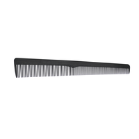 Scalpmasters Barber Carbon Comb 7 inch