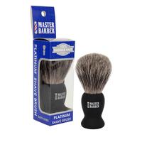 100% Badger Hair Platinum Shave Brush