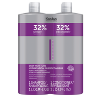 Deep Moisture Shampoo & Conditioner Liter Duo