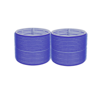 Self-Grip Rollers - 3 1/8 Inch Blue 2–Count