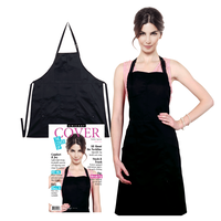 Static Free Apron - Black