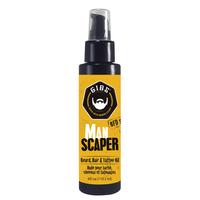 Man Scaper Beard, Hair & Tattoo Oil
