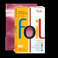 Embossed Pre-Cut Foil-Fuchsia