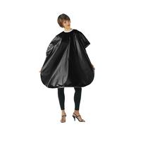Betty Dain Black Vinyl Shampoo Cape