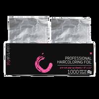 Colortrak Silver Pop-Up Foil 5 Inch x 10.75 Inch - 1000 ct
