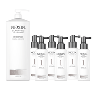 System 1 -  Buy 6 Treatment Get 1 Liter Clarifying Cleanser