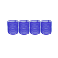 Self-Grip Rollers - 2 Inch Blue 4–Count