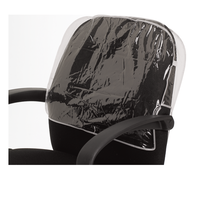 Betty Dain Clear Chair Back Cover, Round