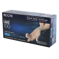 ProCare Latex Powdered Gloves - Large