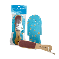Foot File and Slippers Duo