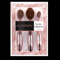 Full Face Contour Oval Brush Set