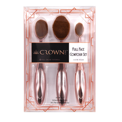 Full Face Contour Oval Brush Set