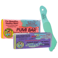 Pumi Bar (assorted colors) with Large Foot File