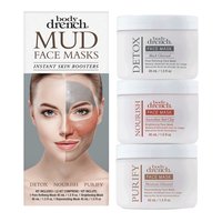 Face Mud Mask 3-piece kit