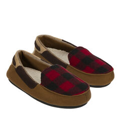 Boys Plaid Moccasin