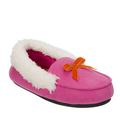Girls Microsuede Moccasin