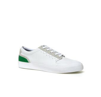 Men's Contrast Heel Low-rise Sneakers