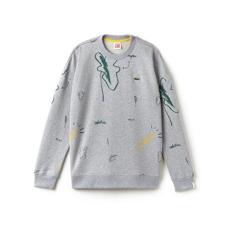 Men's L!VE Print Fleece Sweatshirt