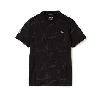 Men's Lacoste SPORT Tennis Print Stretch Jersey T-shirt
