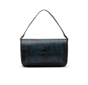 Women's Edition Défilé Print Leather Baguette Bag