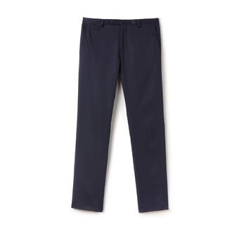 Men's Gabardine Cotton Slim Fit Chino Pants