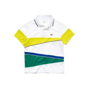 Kids' SPORT Resistant Colorblock Piqué Tennis Polo Shirt