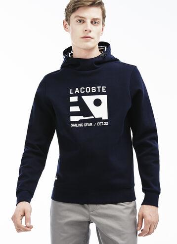 Men's Nautical Logo Hoodie Sweatshirt