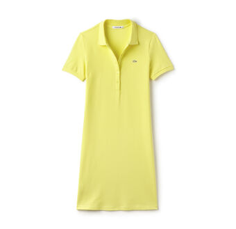 Women's Stretch Piqué Polo Dress