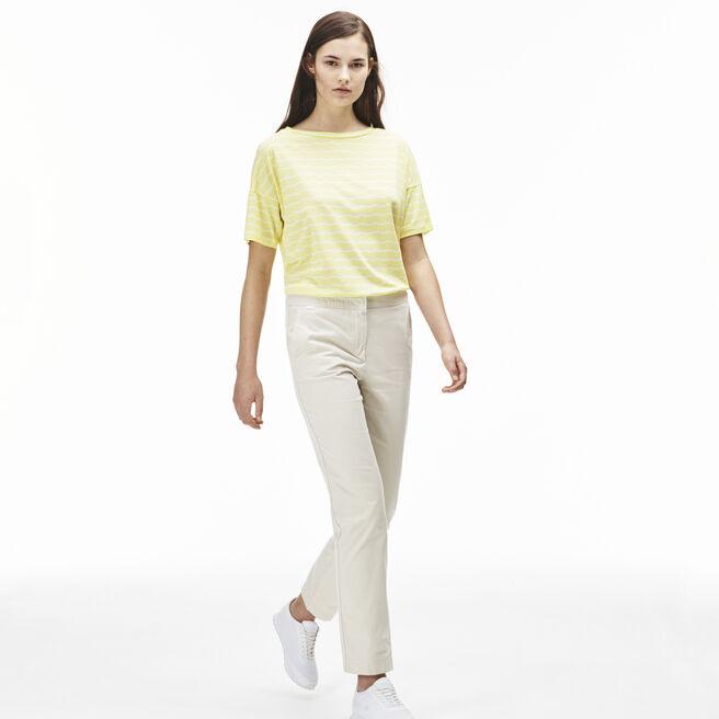 Women's Gabardine Chino Pants