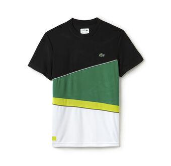 Men's SPORT Resistant Colorblock Piqué Tennis T-shirt