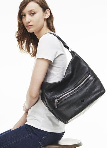 Women's René Monochrome Leather Hobo Bag