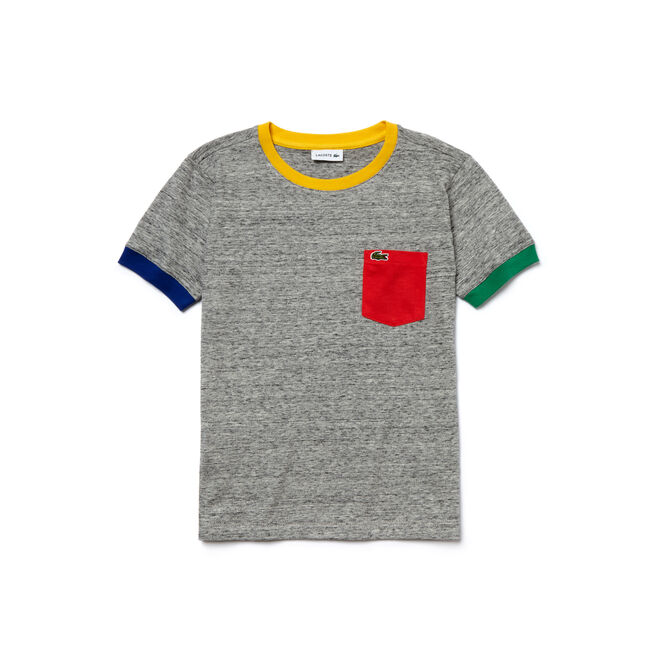 Kids' Colorblock Finishes Jersey T-Shirt