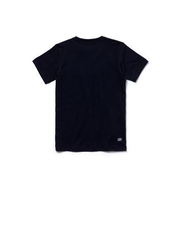 Kids' SPORT Technical Jersey Lettering Tennis T-shirt