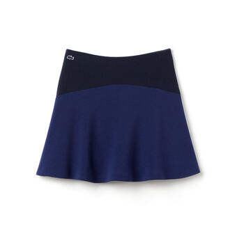 Women's L!VE Solid Double Face A-Line Skirt