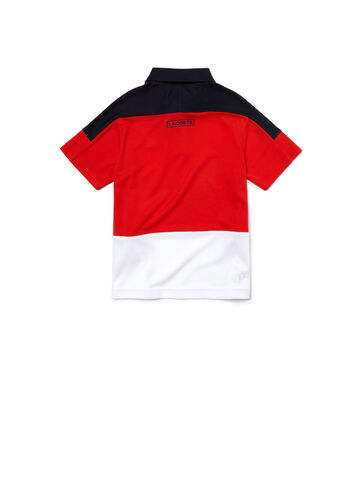 Kids' SPORT Color block Piqué Tennis Polo Shirt