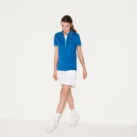 라코스테 골프 폴로 피케 티셔츠Lacoste Womens SPORT Light Stretch Golf Polo,medway blue/white