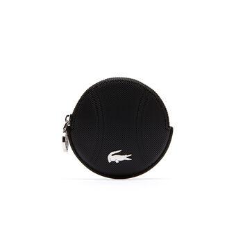 Women's Daily Classic Fine Piqué Grains Tennis Ball Coin Pouch